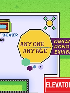 Any One Any Age Organ Donor Exhibit