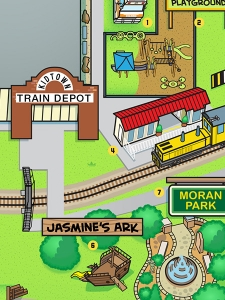 Kid Town Railroad Depot