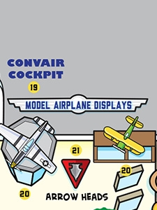 Model Airplane Displays