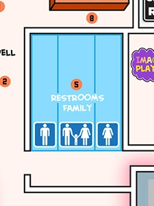 Restrooms (Family)