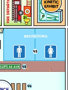 Restrooms (Downstairs)