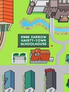 Anne Zarrow Safety-Town Schoolhouse